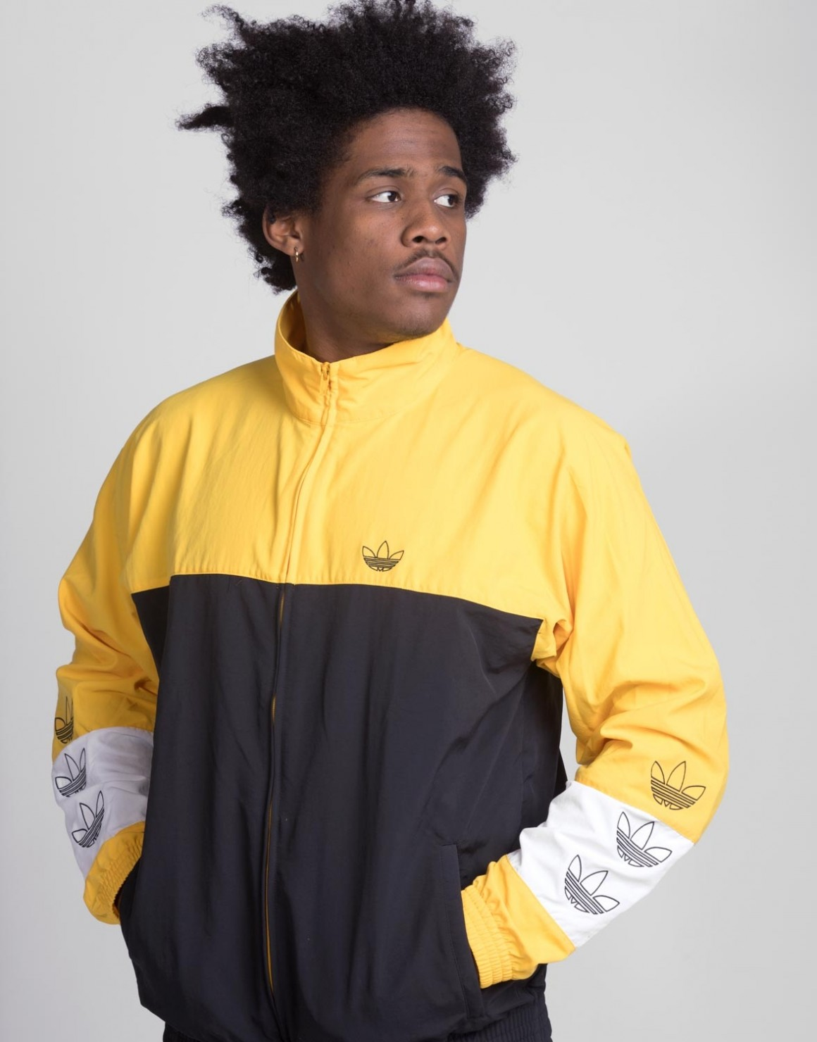 Image of   Blocked Warm-Up Jacket
