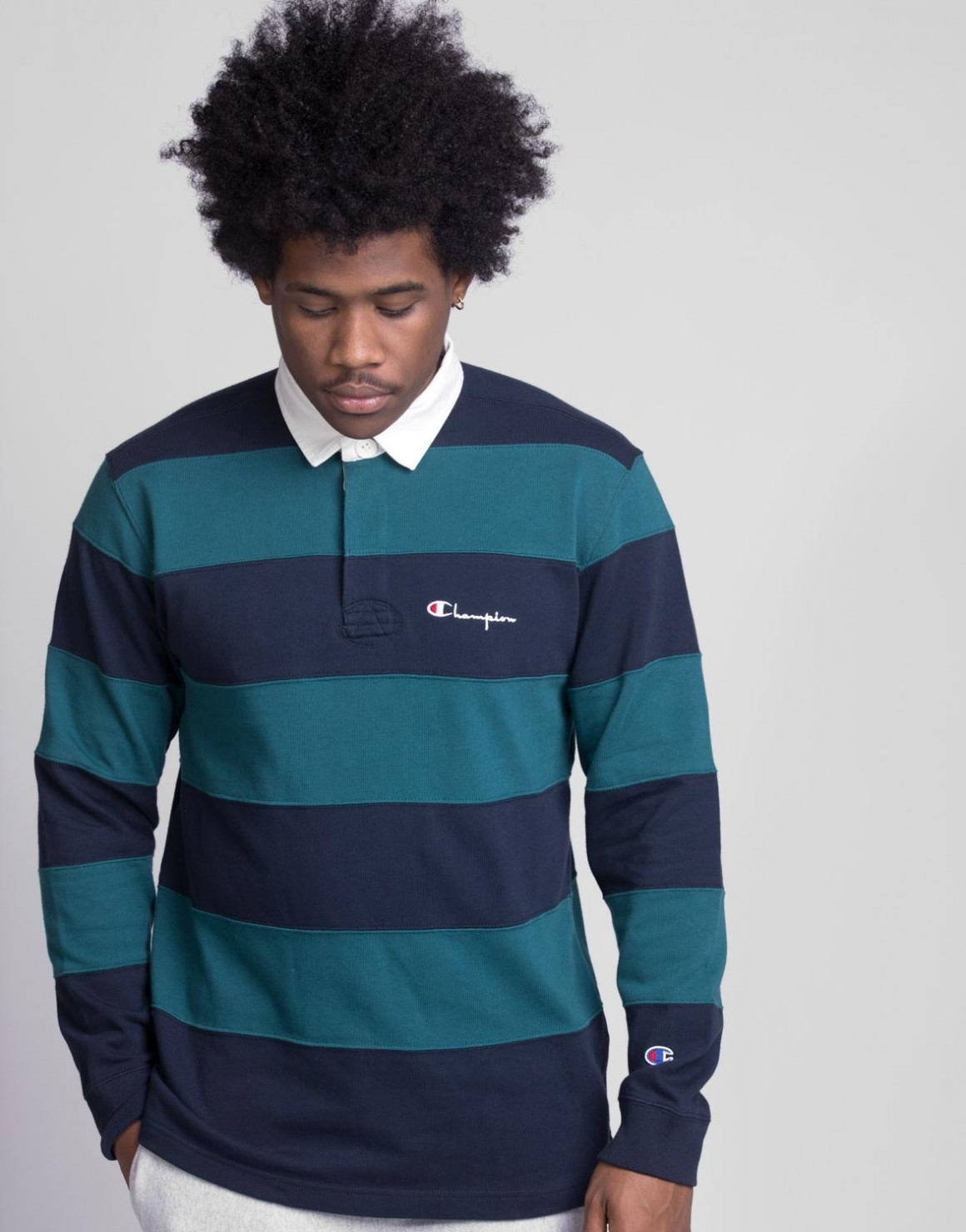 Image of   Long sleeve Polo T-shirt