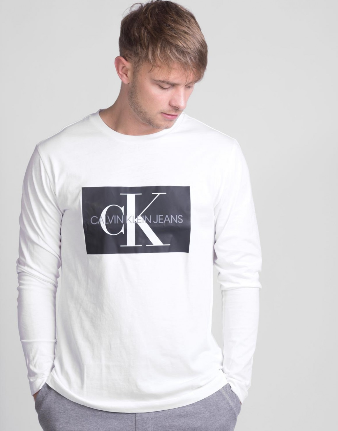 Image of   LS Monogram T-shirt