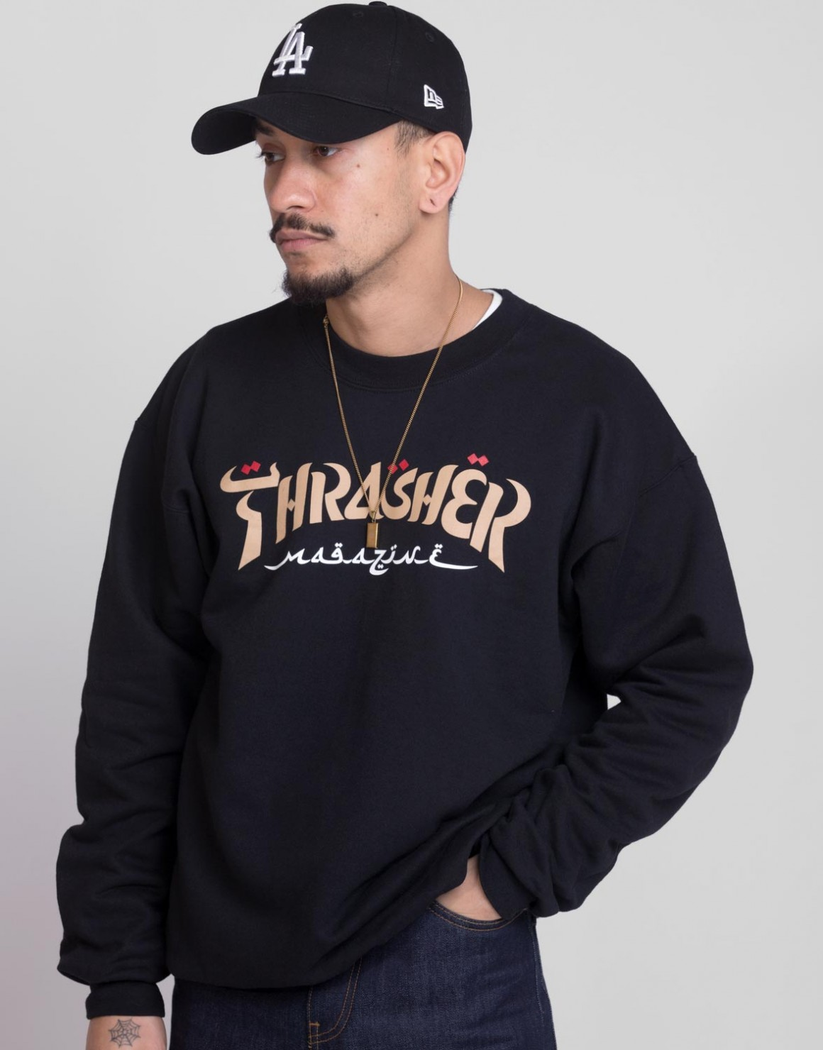 Image of   Calligraphy Crewneck