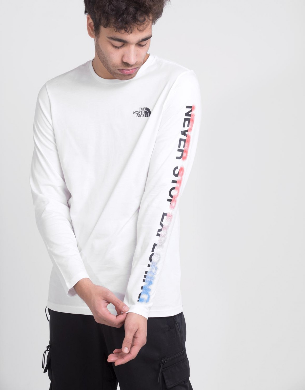 Image of   Long Sleeve Graphic Flow Tee