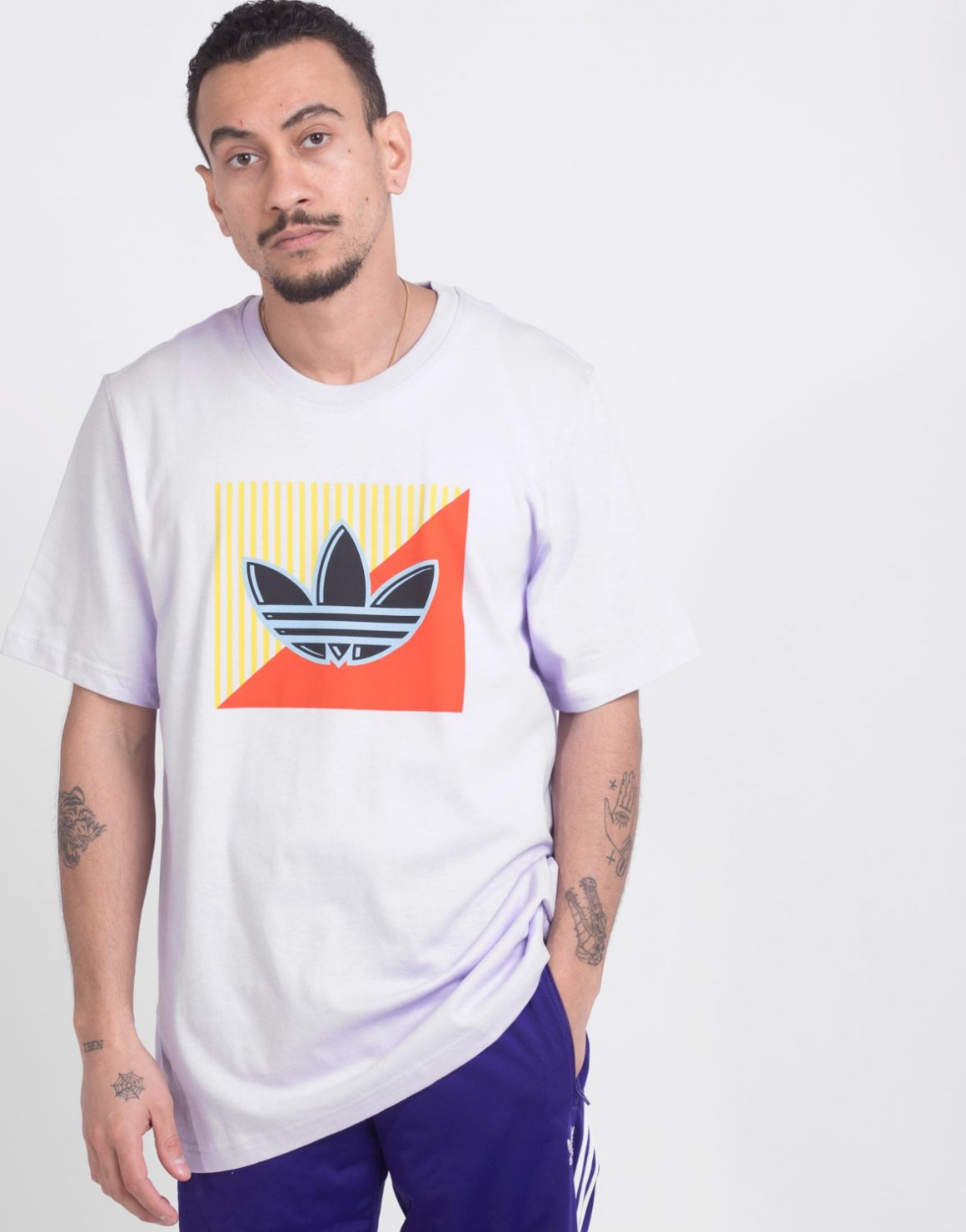 Image of   Diagonal Logo Tee