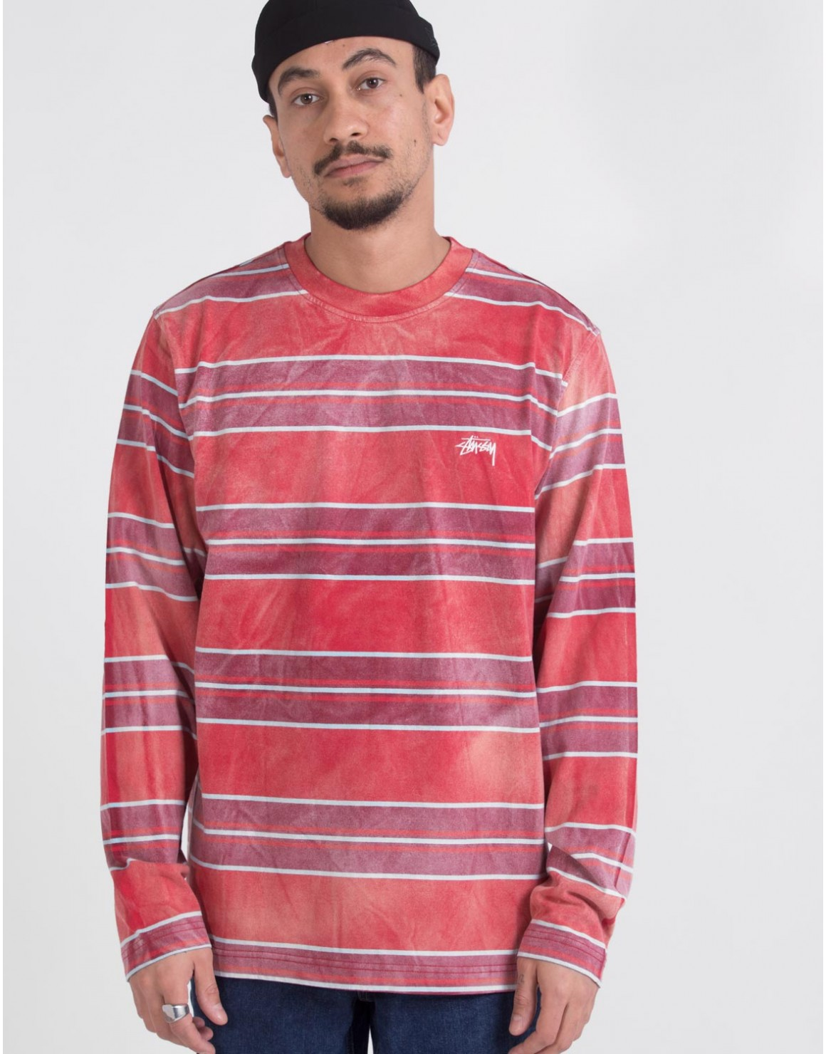 Image of   Bleach Stripe LS Crew