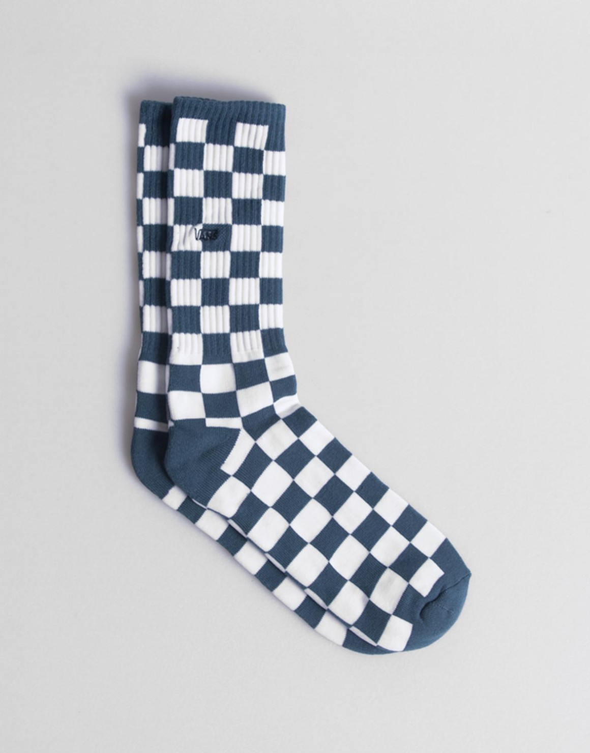 Image of   Checkerboard Crew Socks