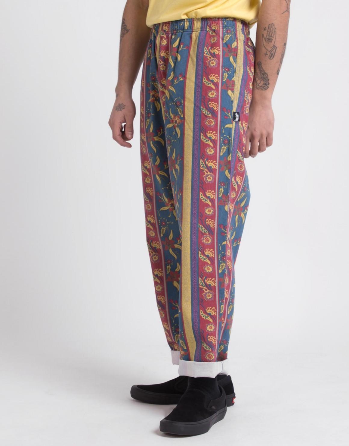 Image of   Fleur Stripe Beach Pant